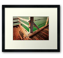 Jetty Framed Print