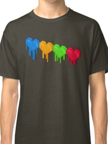 8-Bit Retro Love! Classic T-Shirt
