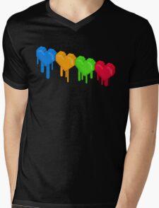 8-Bit Retro Love! Mens V-Neck T-Shirt