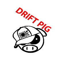 drift pig. JDM style Photographic Print