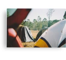 Tent City Canvas Print