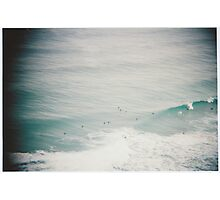 Waves vignette Photographic Print