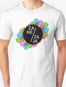 Flowers with graphic T-Shirt