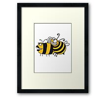 Fuck sex bees Framed Print