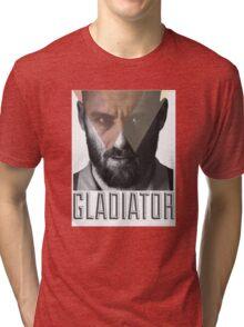 Hipsta DDR - Gladiator Tri-blend T-Shirt