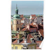 Warsaw Old Town. Poster