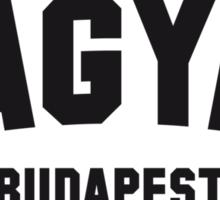 MAGYAR BUDAPEST Sticker