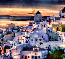 Island Twilight by Wib Dawson