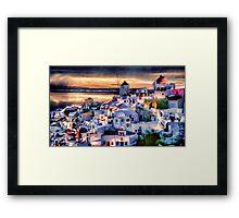 Island Twilight Framed Print