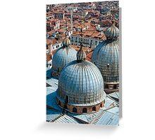 San Marco Basilica, Venice. Greeting Card