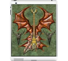 Vampir Guitar Digital Art iPad Case/Skin