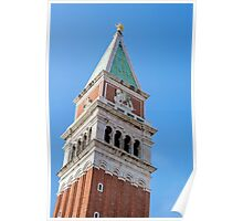 St Mark's Campanile. Poster