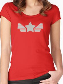 Captain Director Shirt Women's Fitted Scoop T-Shirt
