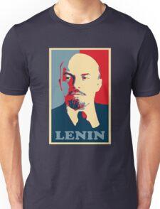 lenin, Obama Hope Poster Unisex T-Shirt