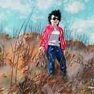 'MOM IN THE DUNES AT NAGSHEAD'  by Jerry Kirk