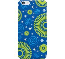Pop! Blue & Green iPhone Case/Skin