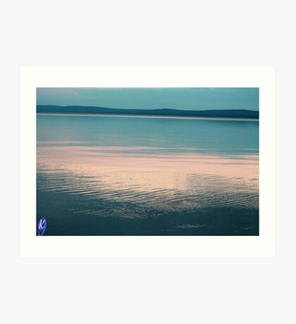 Ripples on the Lake Art Print