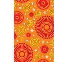 Pop! Orange & Bright Orange Photographic Print