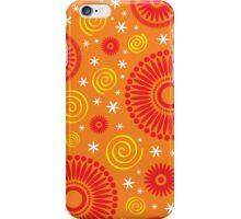 Pop! Orange & Bright Orange iPhone Case/Skin