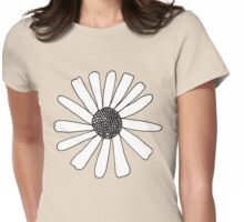 Because Daisies Womens Fitted T-Shirt