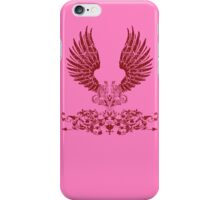 Red Angel Wings iPhone Case/Skin