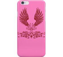 Red Angel Wings iPhone Case/Skin