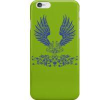 Blue Angel Wings iPhone Case/Skin