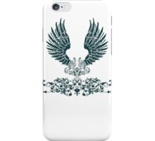 Black Angel Wings iPhone Case/Skin