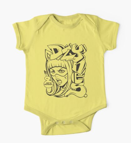 Dzynes must be destroyed! (b&w) One Piece - Short Sleeve