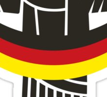 Germany Deutschland  Brazilië Worldcup 2014  Sticker
