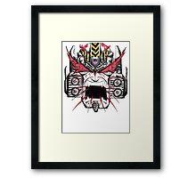 Ballistic Megatron Framed Print