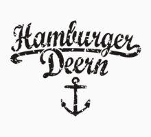 Hamburger Deern Classic Anker (Used Look) Schwarz Kids Clothes