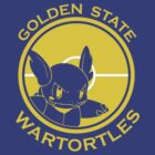 Golden State Wartortles - Gold by ghost650