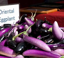 Oriental Eggplant by phil decocco
