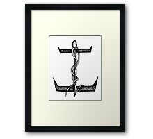 What's ur Anchor ? Framed Print