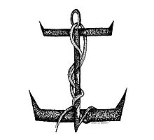 What's ur Anchor ? Photographic Print