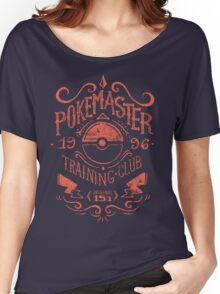 Pokemaster Training Club Women's Relaxed Fit T-Shirt