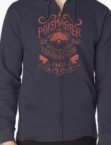 Pokemaster Training Club Zipped Hoodie
