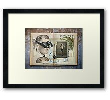 Science Experiment Framed Print