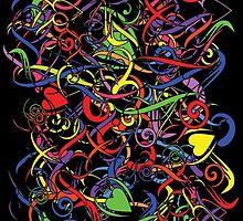 Pop Art! Pattern by RocketmanTees