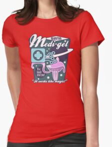 Medi-gel Advertisement Womens Fitted T-Shirt
