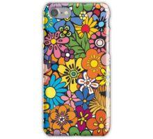 Pop Floral Surf Pattern iPhone Case/Skin