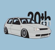 Silver 20th GTI Graphic by VolkWear