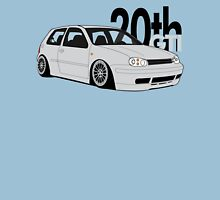 Silver 20th GTI Graphic Unisex T-Shirt