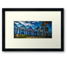 Beach life, Weymouth Framed Print
