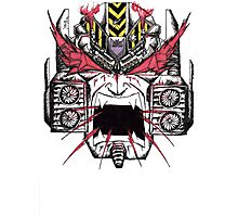 Megatron Commands You Lift! Photographic Print