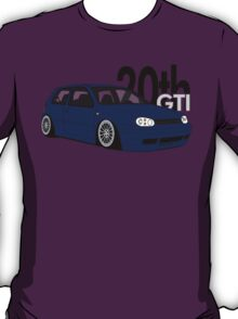 Blue 20th GTI Graphic T-Shirt