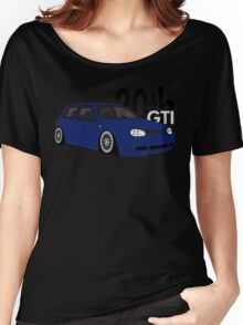 Blue 20th GTI Graphic Women's Relaxed Fit T-Shirt
