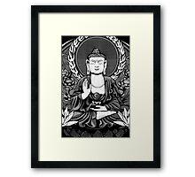 Gautama Budda Crop Framed Print