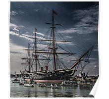 Portsmouth Docks  Poster
